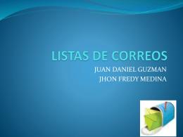 LINEAS DE CORREOS - Tecnología e Informática