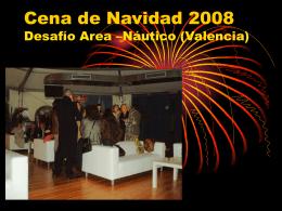 Cena de Navidad 2008 Desafío Area –Náutico
