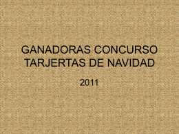 GANADORA EDUCACIÓN INFNTIL