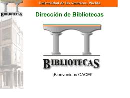 Dirección de Bibliotecas