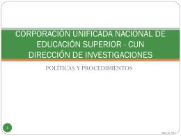 DIRECCIÓN DE INVESTIGACIONES