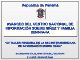 República de Panamá - IIN