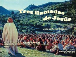 Tres llamadas de Jesús