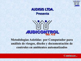 DEMO AUDICONTROL