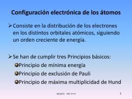 Una nueva descripción del átomo según la Mecánica