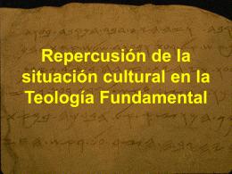 Repercusión de la situación cultural en la