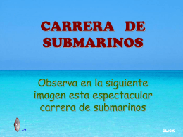 AG2- Carrera de submarinos