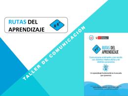 TALLER DE COMUNICACIÓN - Inicio