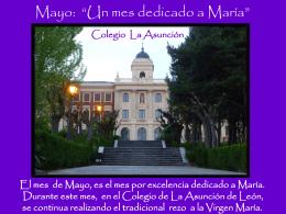 Diapositiva 1 - Colegio La Asunción de León