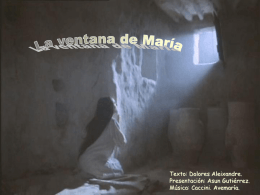 La ventana de María