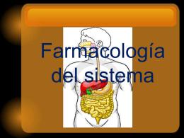Farmacología del sistema digestivo - Inicio -