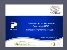 Diapositiva 1 - Fechac | Fundación del