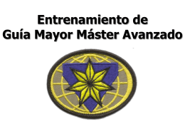 Requisitos de Seminarios de Guía Mayor Máster