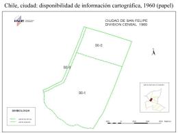 Chile: disponibilidad de información cartográfica,