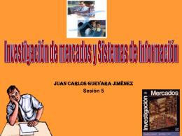 MKT - Investigación y Sistemas de Información