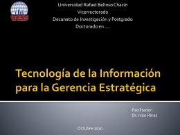 Tecnología de la Información para la Gerencia