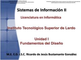 Desarrollo de Sistemas de Información.