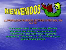 AL MARAVILLOSO MUNDO DE LECTURAS DIVERTIDAS CON