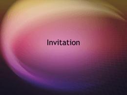Invitation - El Sitio Del Señor Hernandez