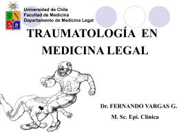 Lesiones en Traumatología