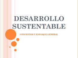 DESARROLLO SUSTENTABLE - Diseño Gráfico Unimar