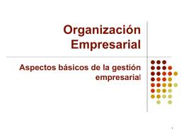 Organización empresarial - Geco