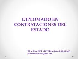 """SEMINARIO TALLER """"NORMATIVA DE CONTRATACIONES DEL"""