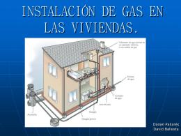 INSTALACIÓN DE GAS EN LAS VIVIENDAS.