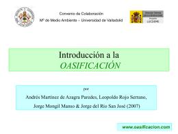 Oasificación