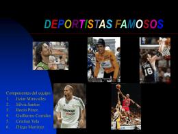Deportistas famosos - Colegio Público Juan de
