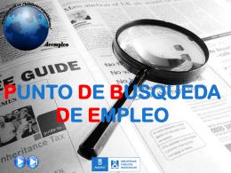 BÚSQUEDA DE EMPLEO - Inicio