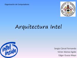 Arquitectura Intel - Dpto. Informática