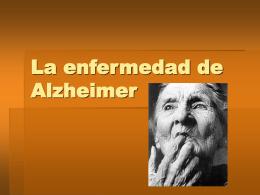 La enfermedad de Alzheimer - IES Icària -