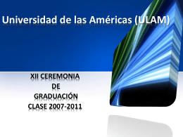 Universidad de las Américas (ULAM)