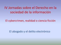 El abogado y el delito electrónico