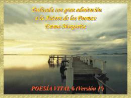 Poesía Vital 6, (Versión 1ª)