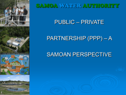 SAMOA WATER AUTHORITY