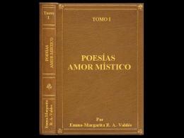 """Poesías """"AMOR MÍSTICO"""" Tomo I"""