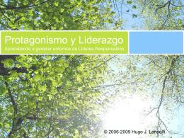 PRESENTATION NAME - Prof. Hugo Landolfi: Filósofo,
