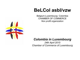 BeLCol asbl/vzw - Chambre de Commerce