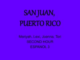 La Histroría de Puerto Ríco