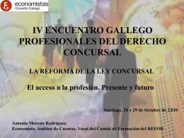 4º ENCUENTRO GALLEGO PROFESIONALES DEL DERECHO