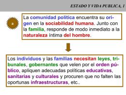 ESTADO Y VIDA PUBLICA, 1