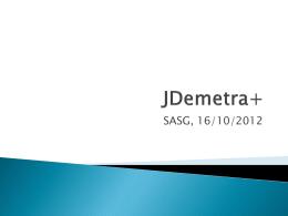 JDemetra+ - CROS