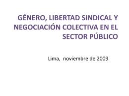 Relaciones laborales en el sector público y
