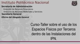 Diapositiva 1 - Inicio - Instituto Politécnico