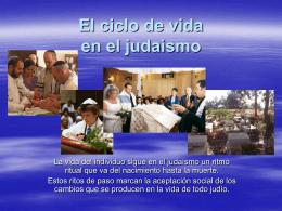 El ciclo de vida en el judaismo