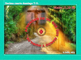 evangelio - Hijas de la Caridad de San Vicente de