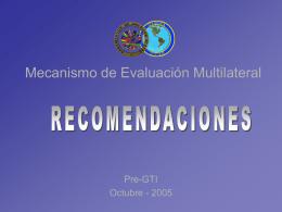 Mecanismo de Evaluación Multilateral
