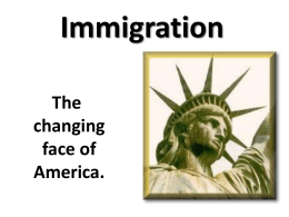 Immigration - Jenks Public Schools